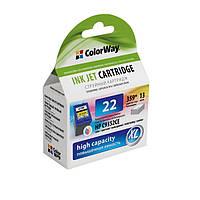 Картридж струйный ColorWay совместимый с HP C9352AE (CW-H22XL)