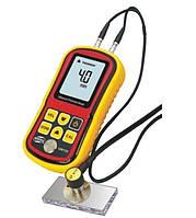 Ультразвуковой толщиномер BENETECH GM100  1.2-225 мм   диапазон скорости звука от 1000 до 9999 м/с  5 МГц (PR0024)