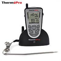 Беспроводной термометр до 100 м со щупом для приготовления пищи THERMOPRO TP-09 -10 до + 250 °С  (PR0151)
