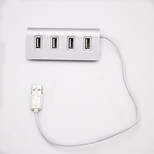 USB-хаб VOLRO 4 Ports Silver (vol-297)