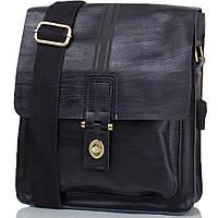 Мужская сумка через плече из натуральной кожи Италия 25x23x6 см 165294