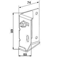 Верхняя роликовая опора для ворот Doorhan Yett Y032N для стандартного типа подъема.