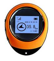 Портативный ручной мини GPS компас навигатор с LCD экраном для туристов и путешественников