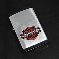 Зажигалка Zippo Harley Davidson Brushed Chrome (200 HD H 252)