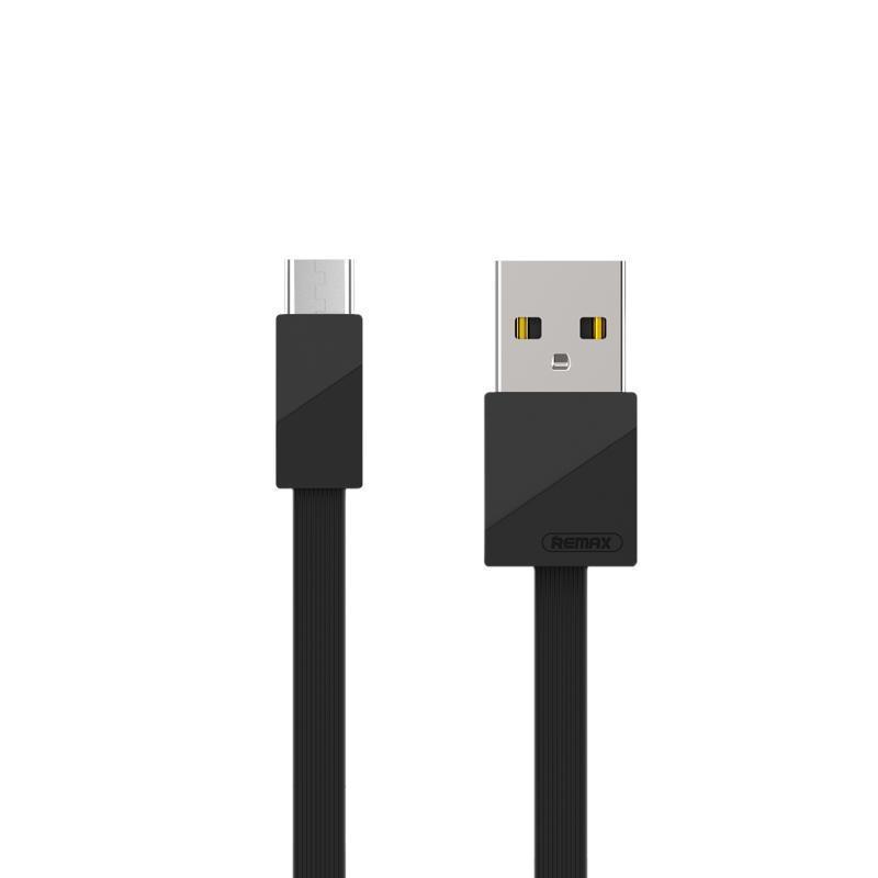 USB кабель Remax Blade RC-105m MicroUSB Black 1m