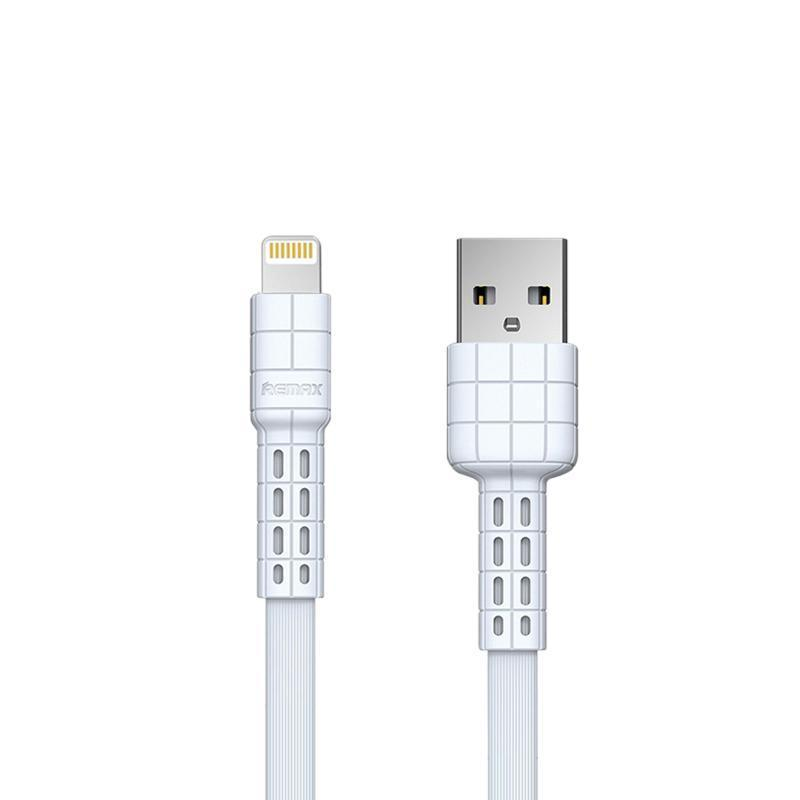 USB кабель Remax Armor Series RC-116i iPhone 7 White 1m