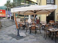 Консольные зонты для кафе и ресторанов.