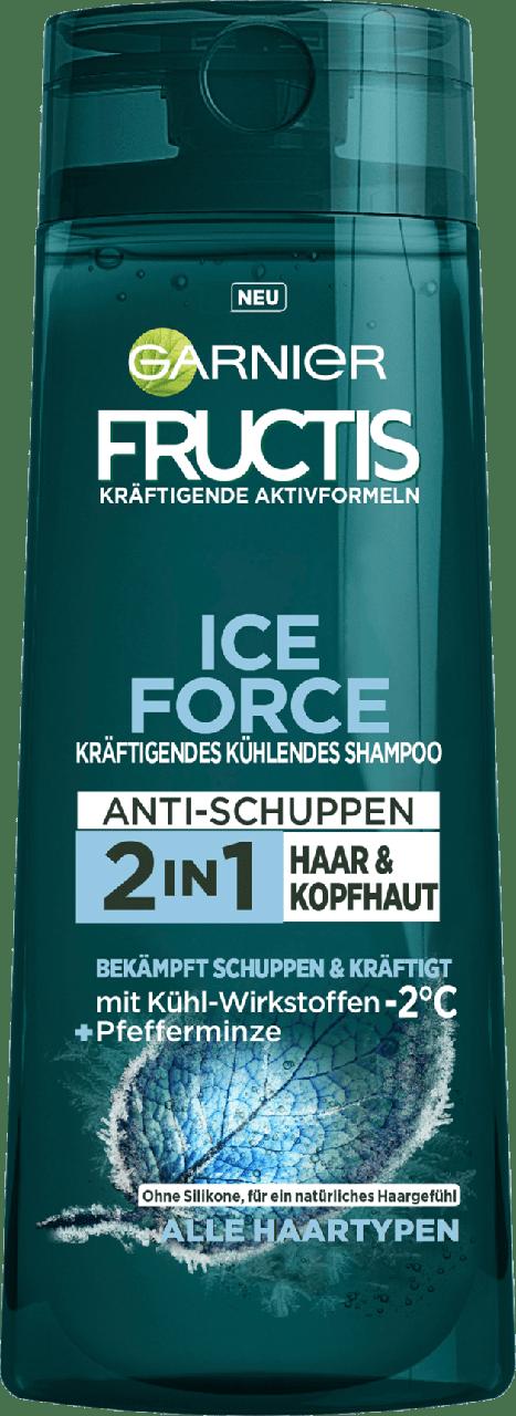 Шампунь против перхоти GARNIER FRUCTIS Anti-Schuppen Ice Force, 300 мл.