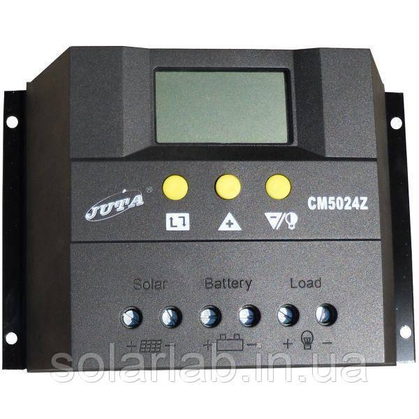 JUTA Контроллер 50А 12В/24В (Модель-CM5024Z), JUTA