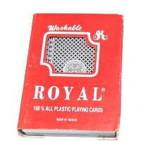 Карты Royal 100% пластик