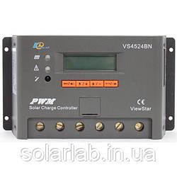 EPsolar(EPEVER) Контроллер, ШИМ 45А 12/24В  с дисплеем, (VS4524BN), EPsolar(EPEVER)