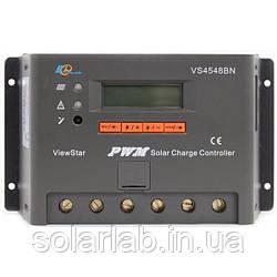 EPsolar(EPEVER) Контроллер, ШИМ 45А 12/24/36/48В  с дисплеем, (VS4548BN), EPsolar(EPEVER)