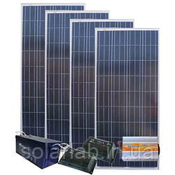 AXIOMA energy Автономная Солнечная электростанция - Дача 97/29кВт*ч в мес., AXIOMA energy