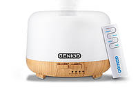 Аромадиффузор и увлажнитель воздуха Geniod 3011 LW с пультом управления 300 мл (9025)