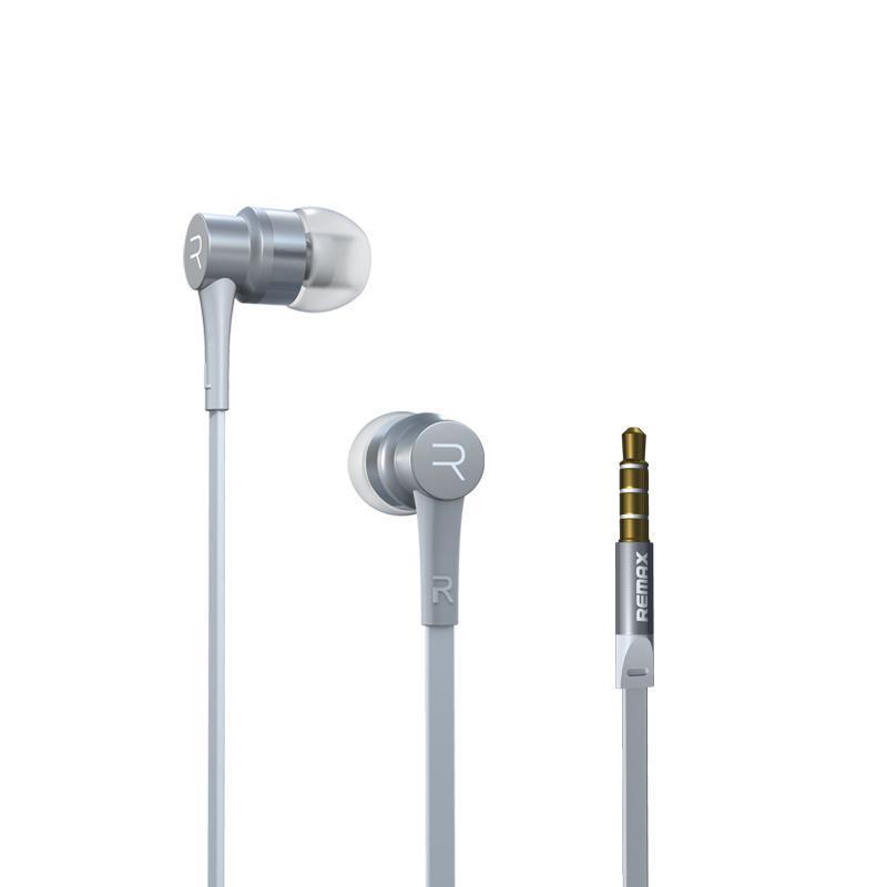 Наушники Remax RM-535 White (с микрофоном и кнопкой ответа) (4-022)