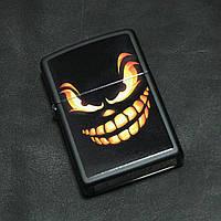 Зажигалка Zippo Scary Jack O Lantern Black Matte (28439)