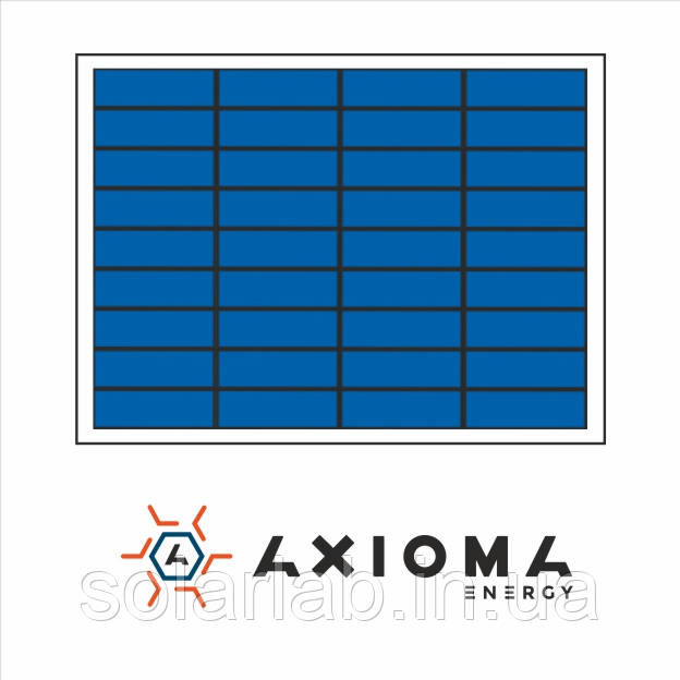 AXIOMA energy Солнечная батарея (панель) 10Вт, поликристаллическая AX-10P, AXIOMA energy