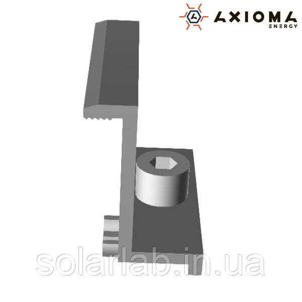 AXIOMA energy Притиск Крайній, 40 мм, алюміній і нержавіюча сталь А2, AXIOMA energy