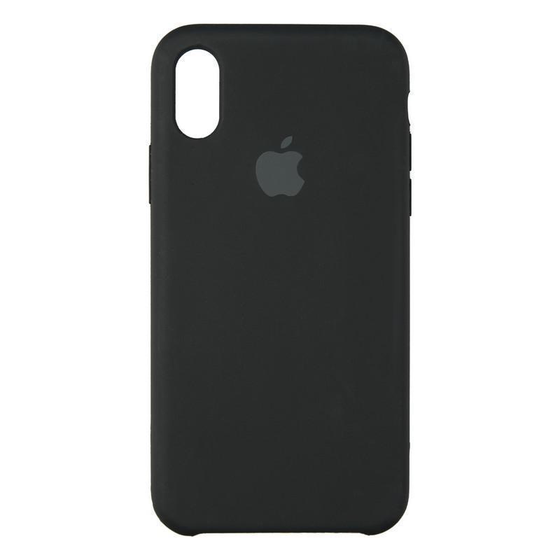 Чехол-накладка Pro Soft для телефона iPhone X Black (18)