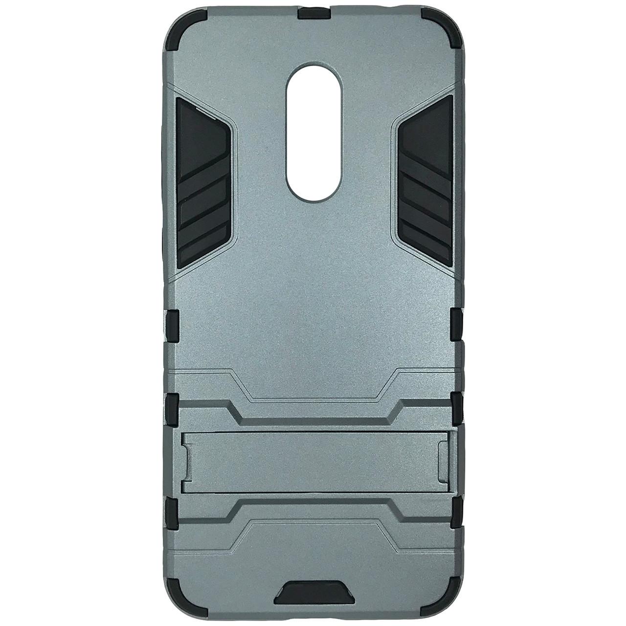 Бронированный чехол с подставкой HONOR Hard Defence для  Xiaomi Redmi 5 Plus Space Gray