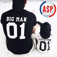Футболки для всей семьи Family Look Фэмили лук футболки для мамы папы и детей футболки для отца и сына
