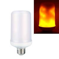 Лампа светодиодная декоративная с эффектом пламени огня E27 LED 9Вт (z04480)
