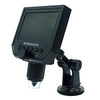 Цифровой микроскоп c 4.3 ЖК дисплеем аккумулятором MicroSD 1-600X (z03750)