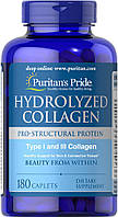 Коллаген Puritan's Pride Hydrolyzed Collagen 1000 mg