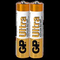 Батарейка GP ULTRA ALKALINE 1.5V 15 AU-S2 LR6 AA 2 шт сп (HT380)