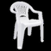 Стул пластиковый Алеана Луч Белый