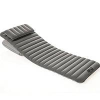 Надувной пляжный шезлонг Bestway 67617 с подушкой (пляжный матрас): размер 191х70х10,5см