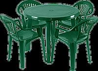 Мебель для улицы Зеленый (ЛУКРУ 4z)