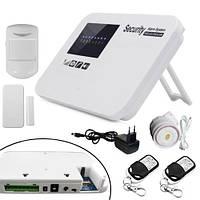 GSM сигнализация беспроводная охранная система с оповещениями РУС (z01906)