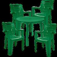 Мебель для улицы Зеленый(РЕКРУ 4z)
