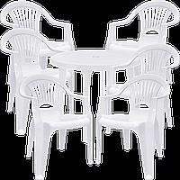 Комплект мебели для кафе Белый (ЛУКРУ 6b)