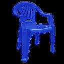 Комплект мебели для улицы Синий (ЛУКРУ 6s), фото 2