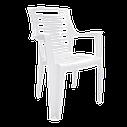 Уличные стол и стулья Белый (РЕКВАД 6b), фото 3