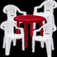 Мебель во двор Разноцветный (ЛУКРУ 4bv)