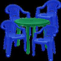 Набор пластиковой мебели Алеана Разноцветный  (ЛУКРУ 4sz)