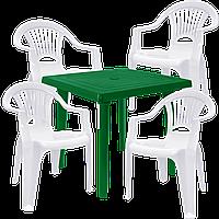 Мебель для кафе из пластика Разноцветный (ЛУКВАД 4bz)