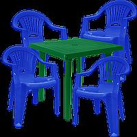 Набор пластиковой мебели Алеана Разноцветный (ЛУКВАД 4sz)