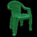 Комплект пластиковых стульев и стол Разноцветный (ЛУКВАД 4zv), фото 3