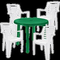 Набор пластиковой мебели Алеана Разноцветный (РЕКРУ 4bz)