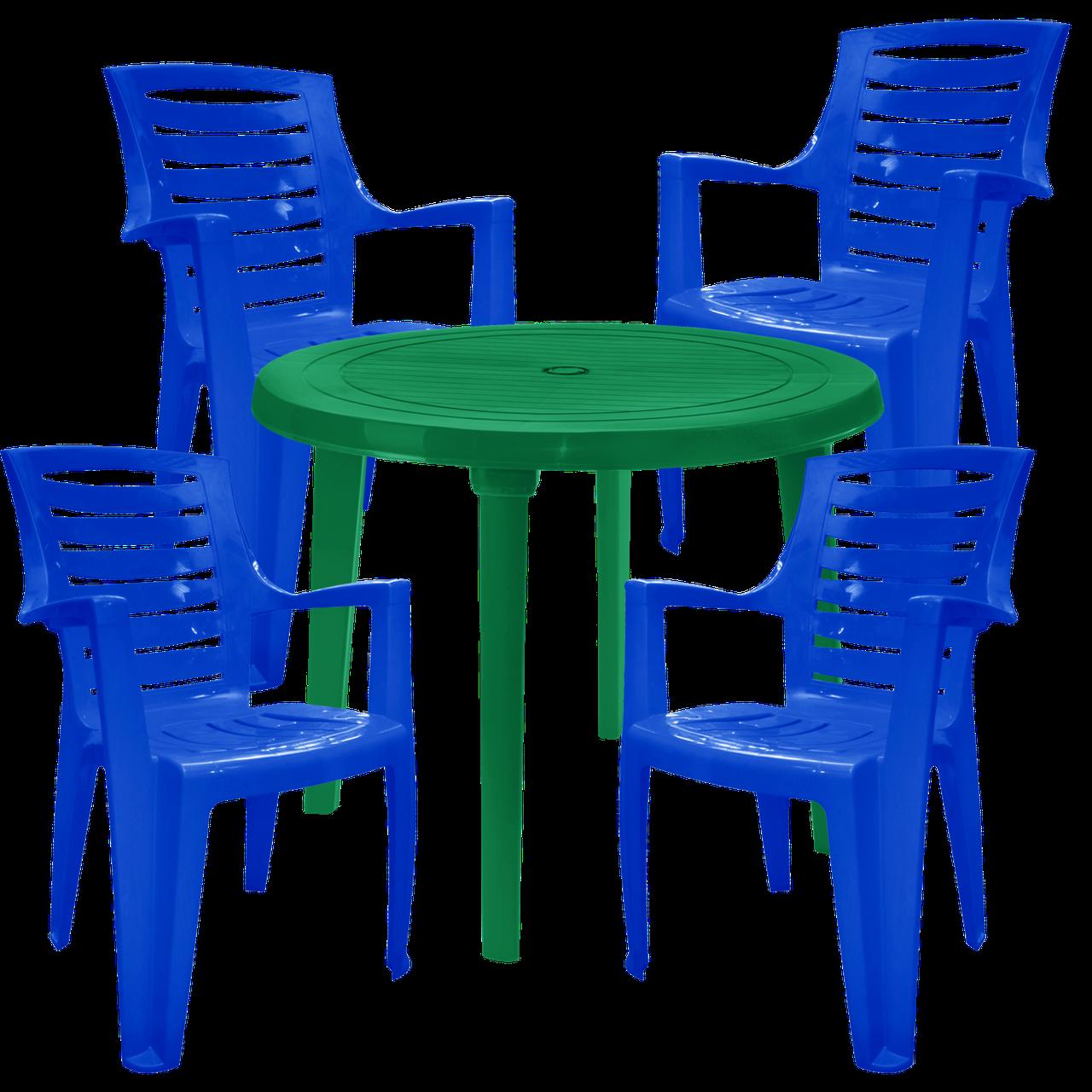 Садовая мебель для дачи Разноцветный (РЕКРУ 4sz)