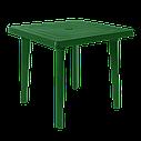 Стол пластиковый, стулья для сада Разноцветный (РЕКВАД 4bz), фото 3