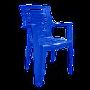 Комплект садовой пластиковой мебели Разноцветный (РЕКВАД 4sz), фото 2
