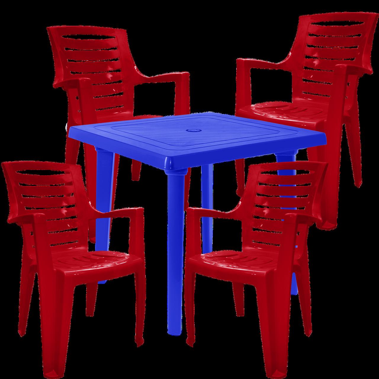 Набор садовой  мебели Разноцветный (РЕКВАД 4vs)