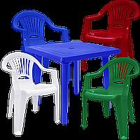 Набор пластиковой мебели Алеана Разноцветный (ЛУКВАД 4mixs)
