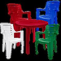 Набор пластиковой мебели Алеана Разноцветный (РЕКРУ 4mixv)
