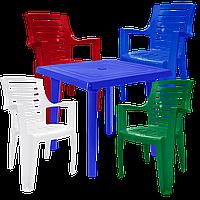 Мебель садовая Разноцветный (РЕКВАД 4mixs)
